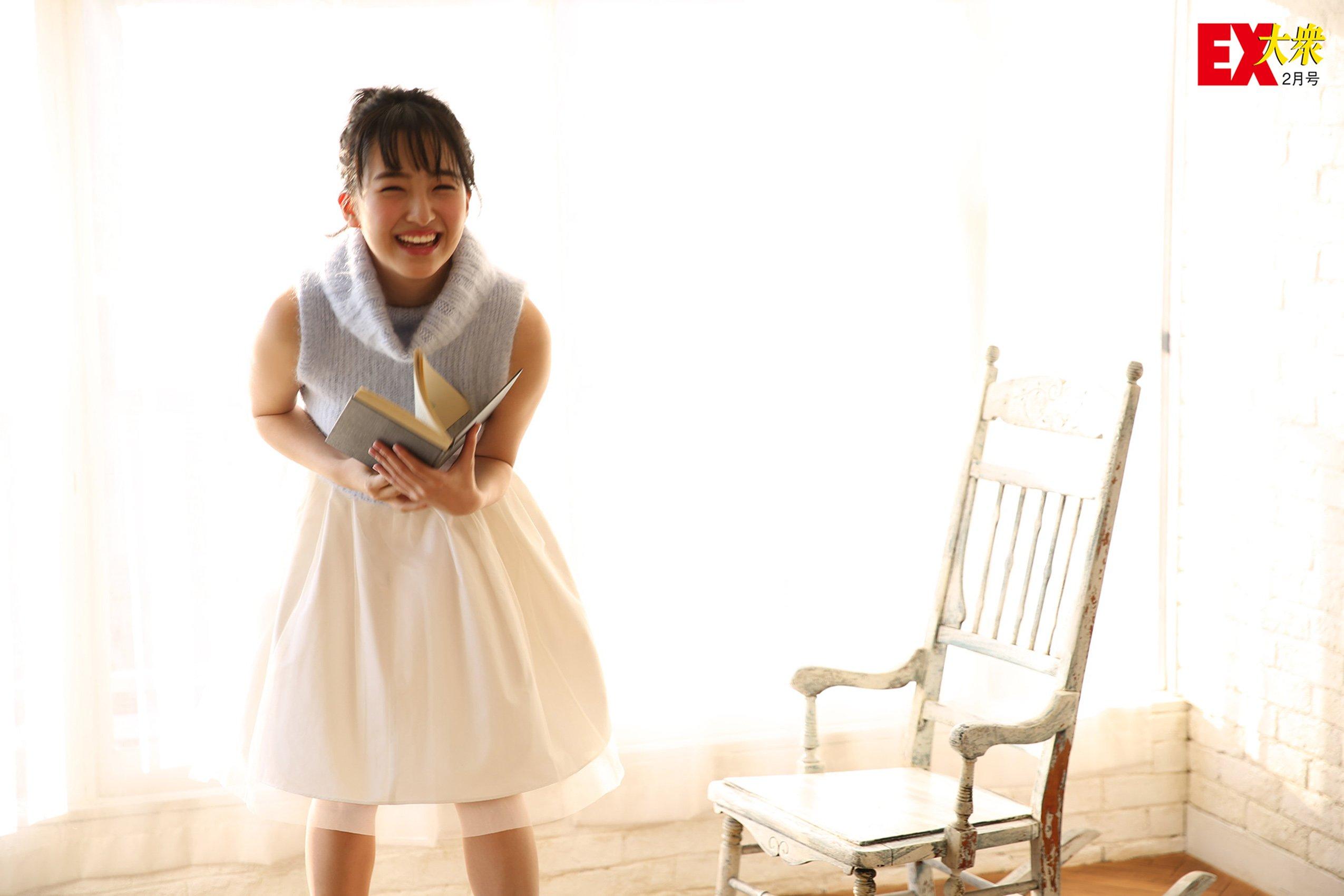 타시마 메루(田島芽瑠, たしま める) - EX대중 2016 2월호 미게재 컷