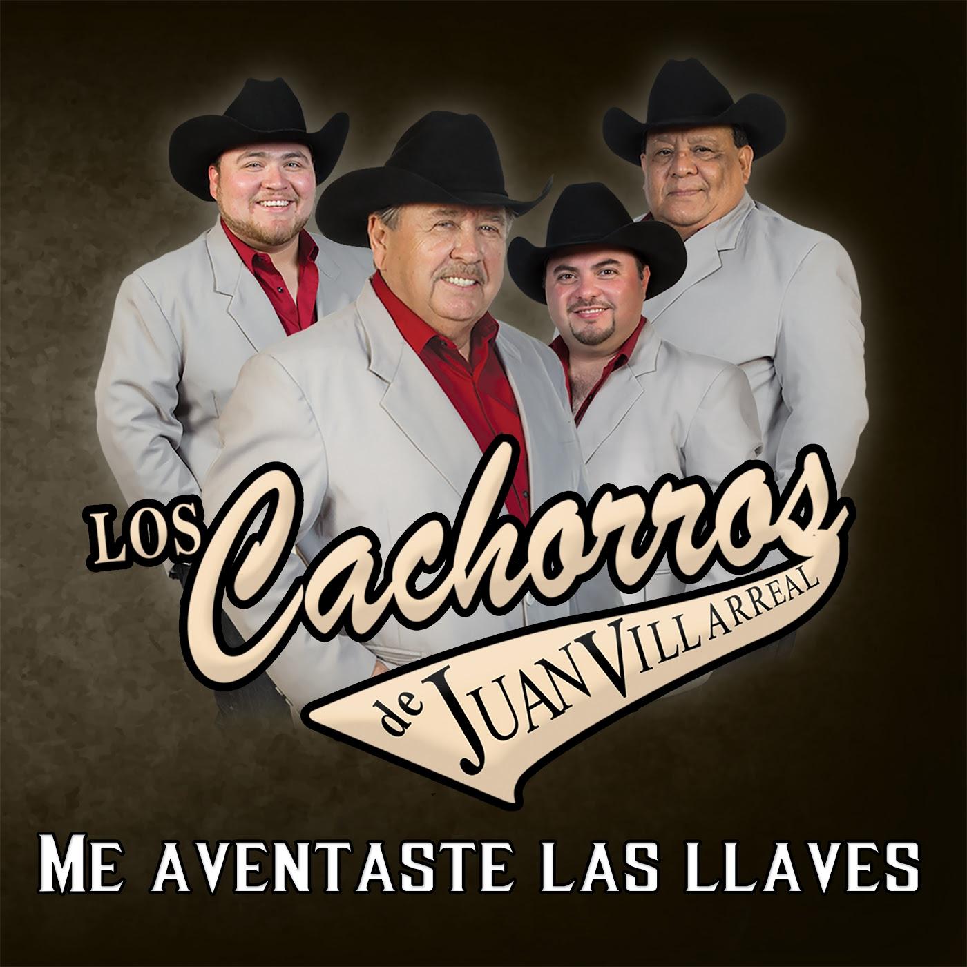 Los Cachorros De Juan Villarreal – Me Aventaste Las Llaves (Álbum 2016) portada
