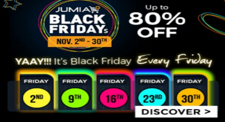 Jumia Black Friday Sales 2018