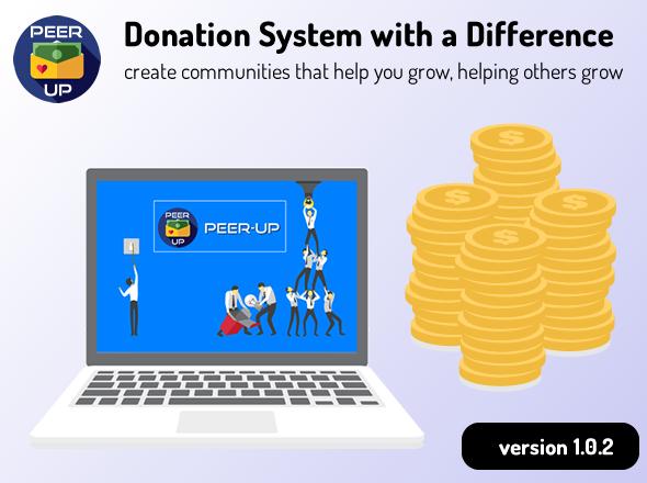 Brief Description of Peerup Donation Script