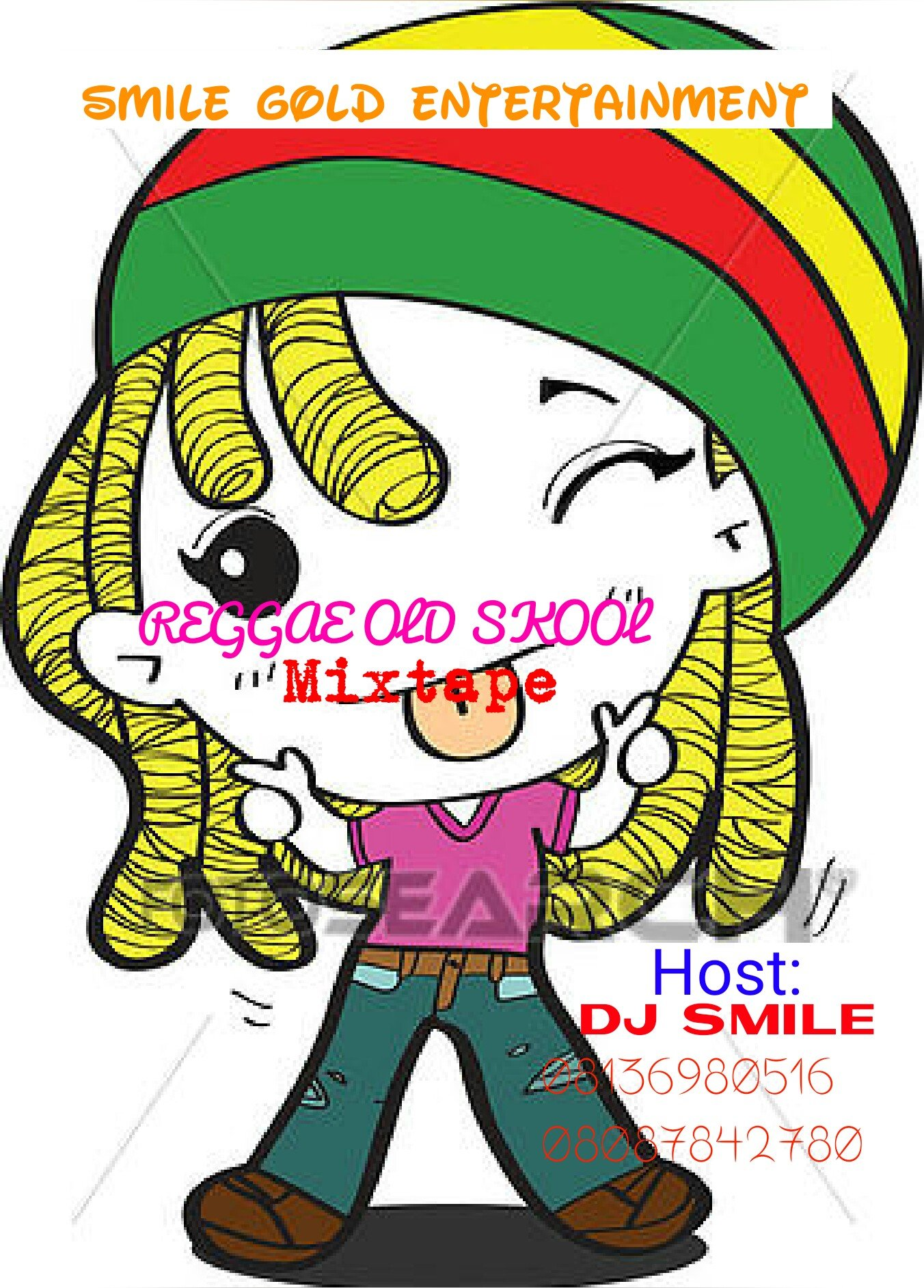 DJ SMILE NEW MIXTAPE reggae old skool mix 08136980516
