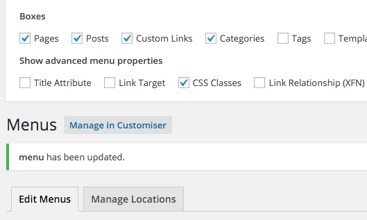Adding Buttons to a menu inserted from page builder - Beaver Builder