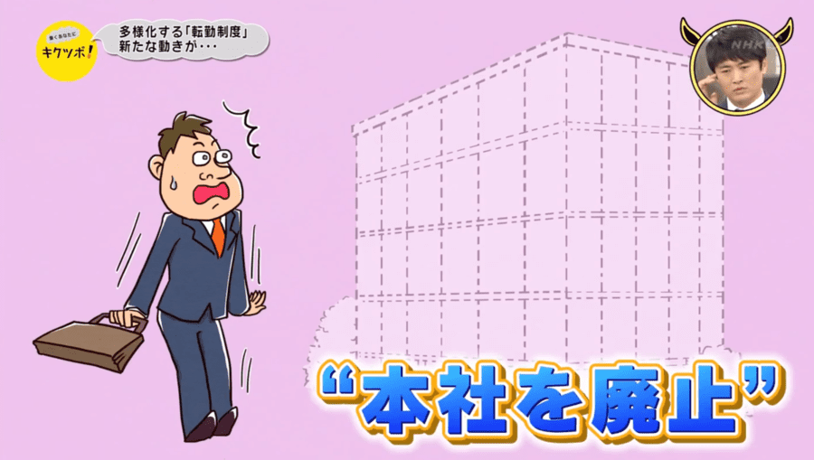 NHK総合「働くあなたに キクツボ!」のTV取材・放送されました。