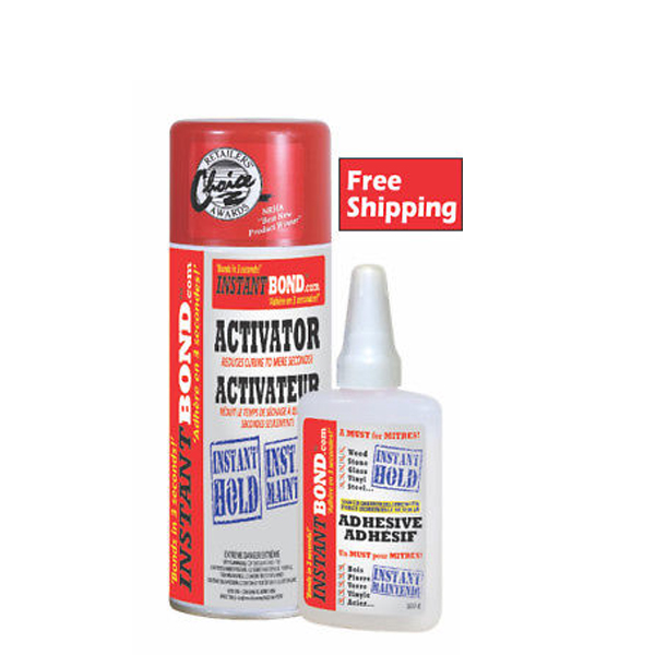 Details about Instantbond 50g Adhesive/200ml Activator 3s Instant hold -  Buy 2 Get 1 Free!!