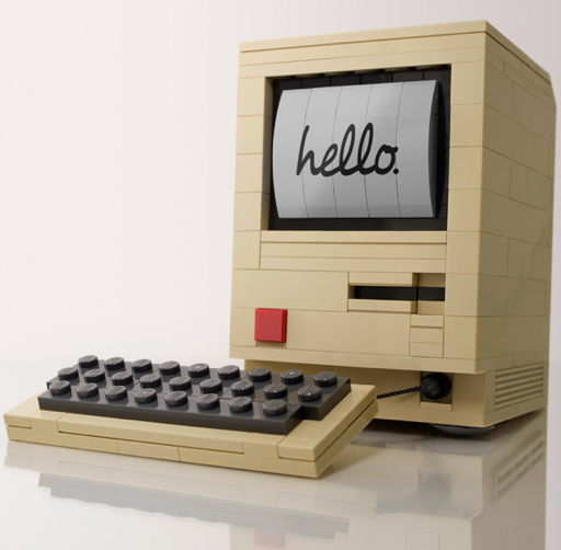 intricate lego computer
