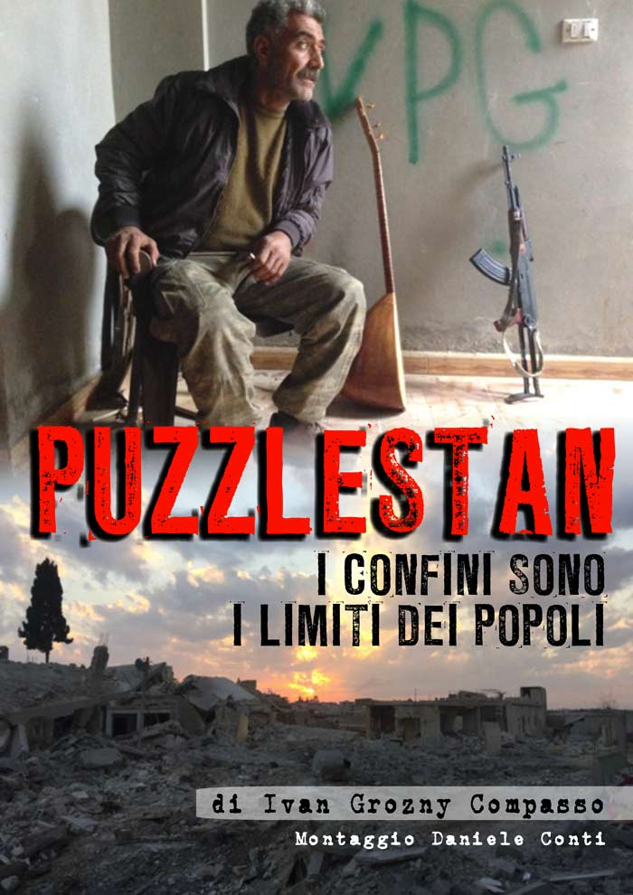 La locandina del documentario Puzzlestan di Ivan Grozny Compasso