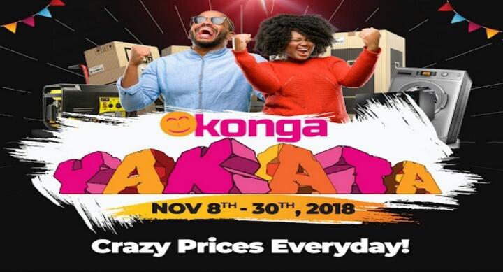Konga Black Friday Sales 2018