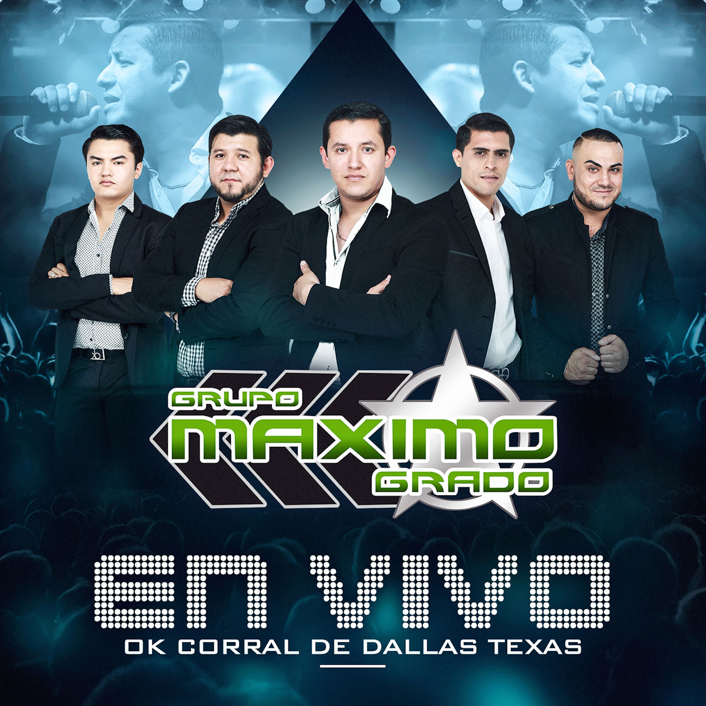 Maximo Grado – En Vivo Ok Corral Dallas Texas (Álbum 2016) portada