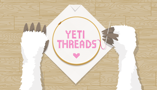 Yeti Threads illustration by Lynn Fisher