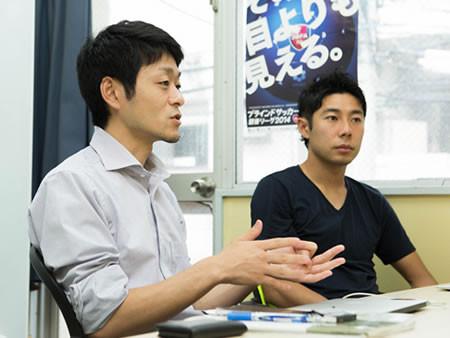 「勝って障がい者を取り巻く環境や地域社会での生き方をよりよくしたい」と語る松崎氏