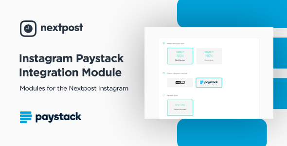 Nextpost with Paystack