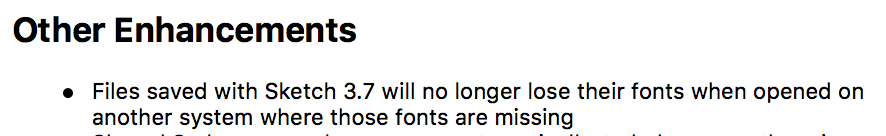 Fonts are no longer missing