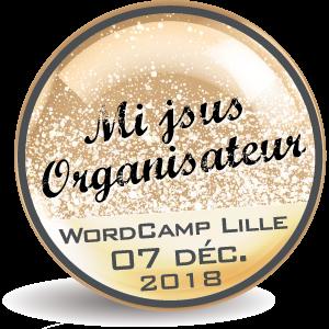 Badge Organisateur