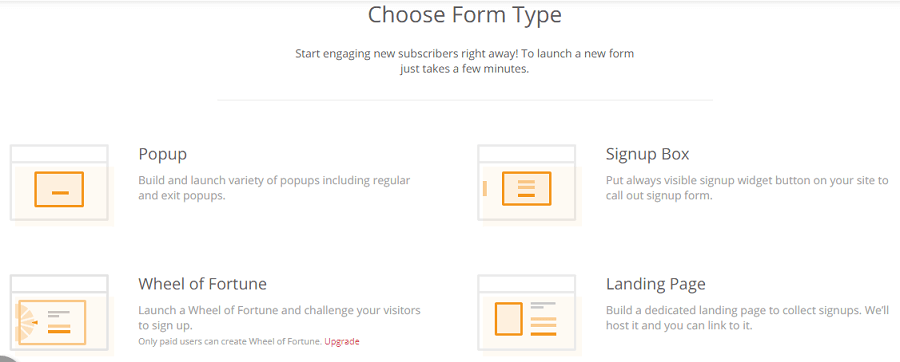 omnisend signup forms