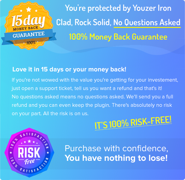 100% Risk Free Guarantee