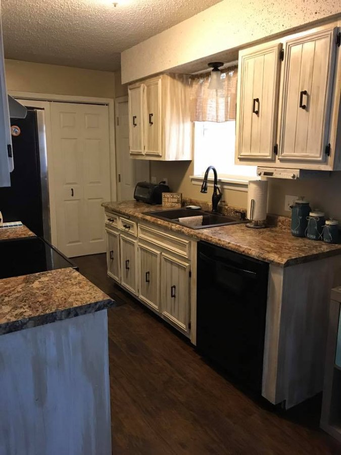 Kitchen again after