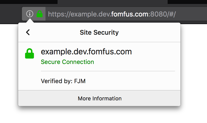 Firefox trusts my Self-Sign certificate.