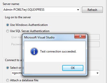 LINQ to SQL trong môi trường Visual Studio – Trần Ngọc Minh Notes