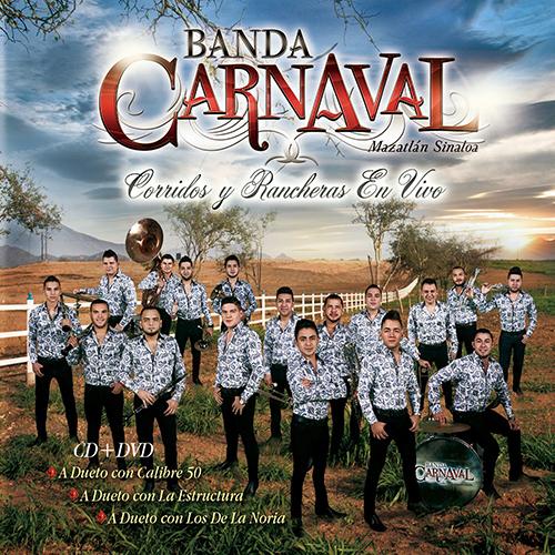 Banda Carnaval – Corridos y Rancheras (En Vivo) (Álbum 2016)
