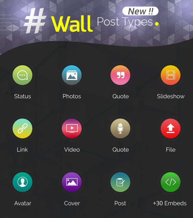 Youzer Wall Features
