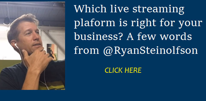 accelerate marketing livestream Ryan Steinolfson